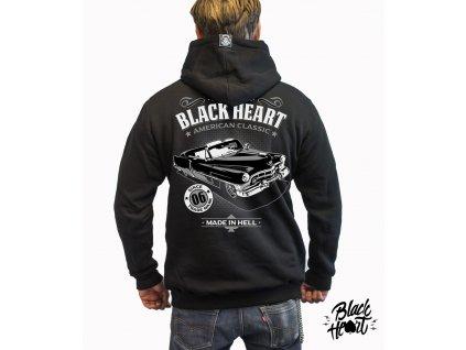 Pánská Mikina BLACK HEART CADILLAC ZIP