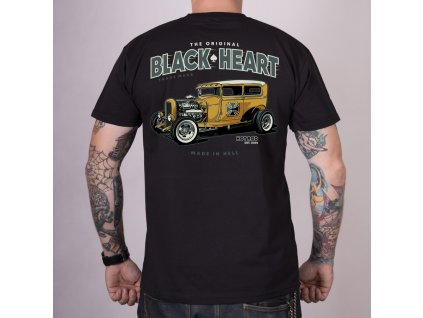 Triko yellow boy black heart 2