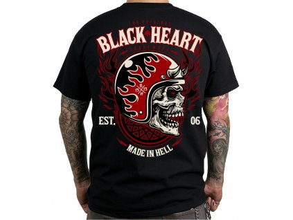 black heart HATTER hot rod chopper rockabilly moto shop