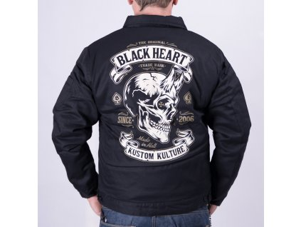 Bunda black heart devil skull 3