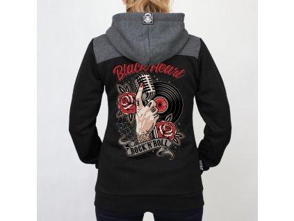 dámská mikina rock n roll