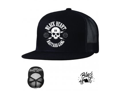 kšiltovka black heart hot rod chopper Uclothing