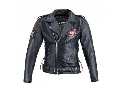 Kožená moto bunda W TEC Black Heart Perfectis