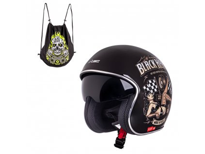 Moto přilba W TEC V537 Black Heart 09