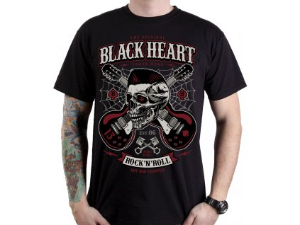 black heart psycho hot rod chopper rockabilly moto shop