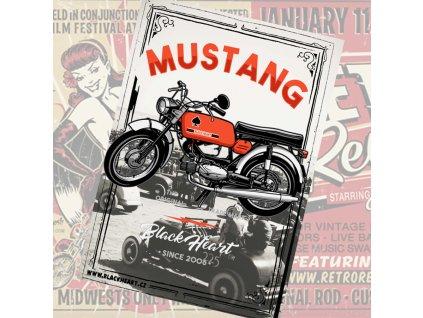 plakát mustang 1