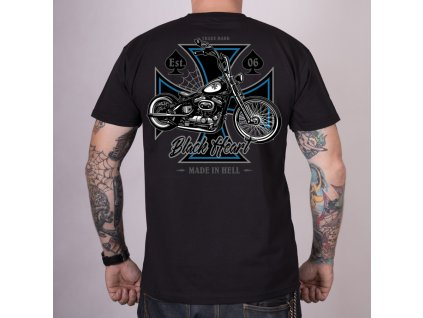 Triko black heart chopper cross 2