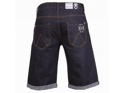 black heart DENIM SHORT 1