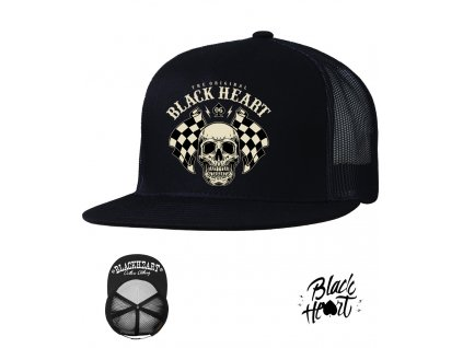 kšiltovka black heart STARTER hot rod chopper Uclothing