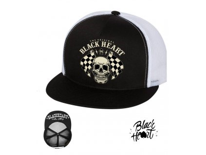 kšiltovka black heart STARTER hot rod chopper clothing