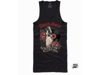 dámské tílko rock n roll black heart