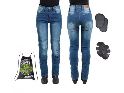 Dámské moto jeansy W TEC Lustipa 21