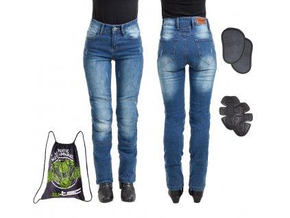 Dámské moto jeansy W TEC Panimali 14