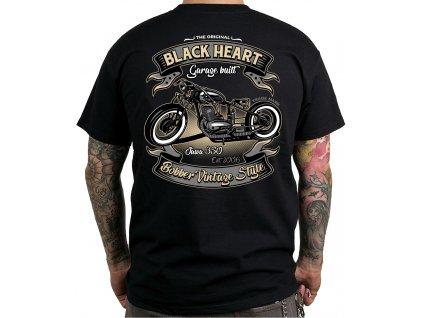 Pánské Triko BLACK HEART JAWA BOBBER