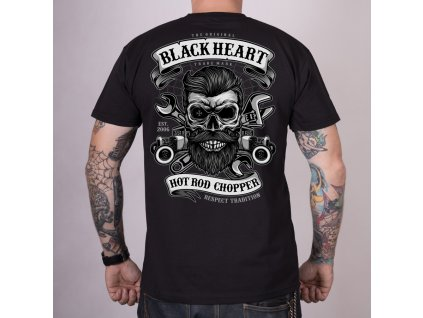 Triko black heart respect tradition