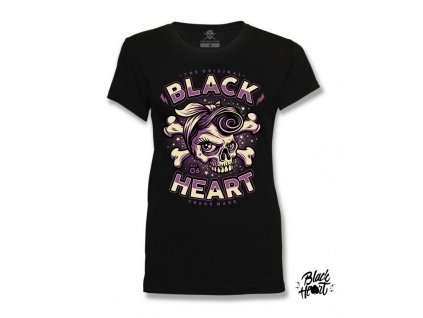 DÁMSKÉ TRIKO BLACK HEART BETTY RIZZO