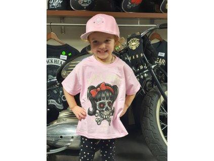 dětské triko black heart sandy