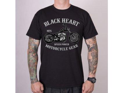 Triko BLACK HEART CHOPPER