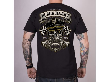 Triko BLACK HEART  OLDSCHOOL RACER