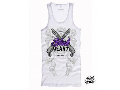 Dámské tílko BLACK HEART SHOT GUN