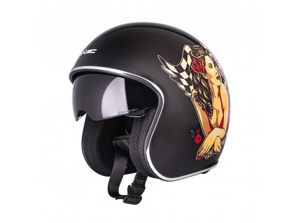 Moto přilba W-TEC V537 Black Heart Angel
