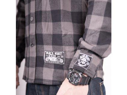 Košile dlouhý rukáv BLACK HEART Duke (1)