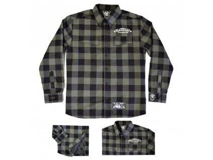 Košile dlouhý rukáv BLACK HEART Duke Lined