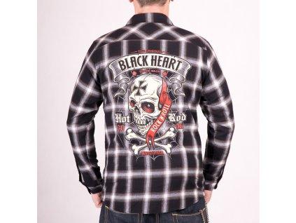 Košile black heart crusty demons