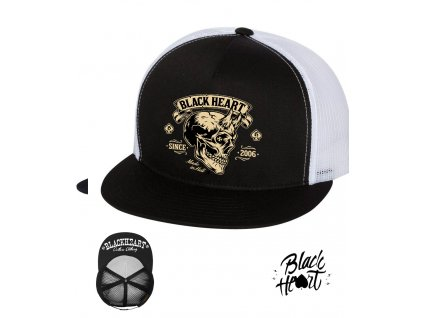 kšiltovka black heart hot rod chopper clothiKKng