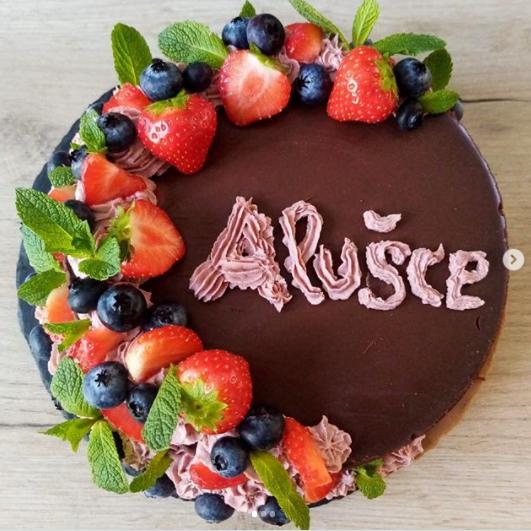 Nádherný a výborný dort! Alena - Ostrava