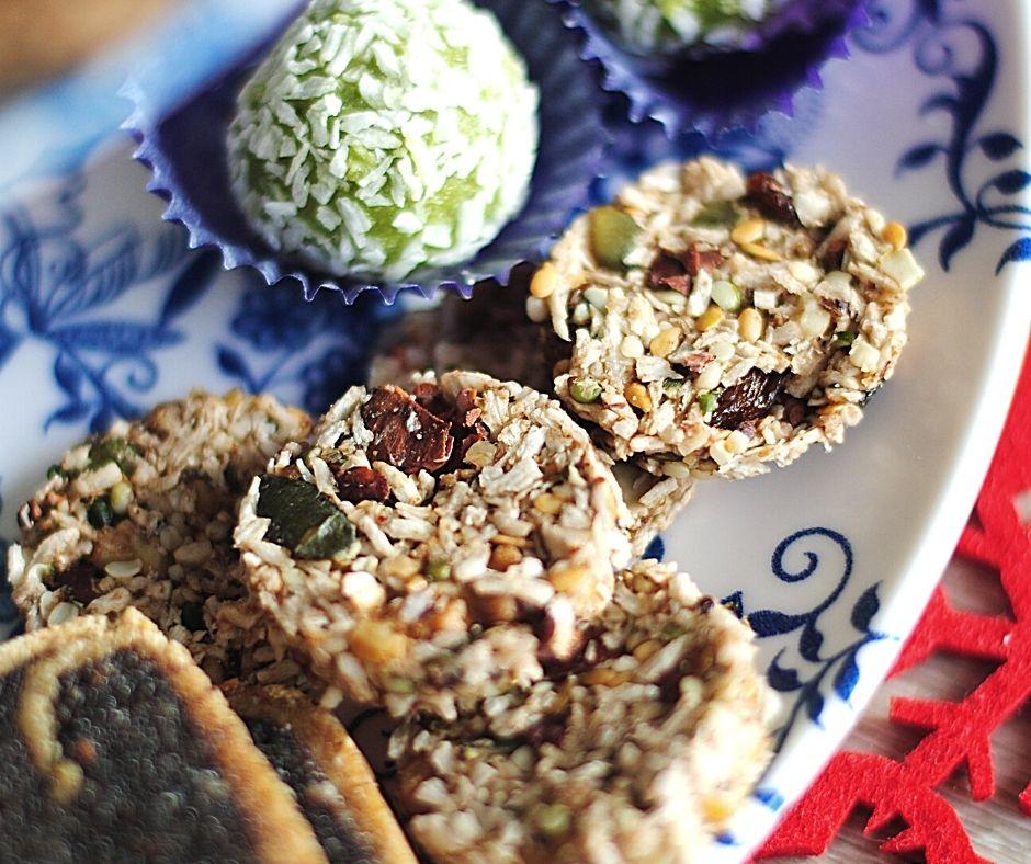 Black Kale cookies-raw sušenky