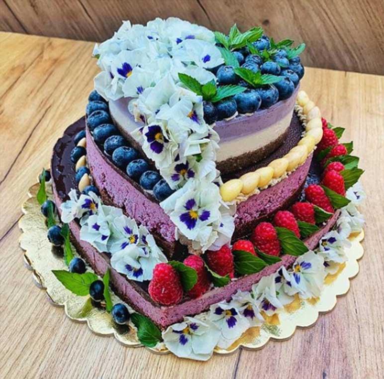 Velká spokojenost se svatebním dortem! Ivanka - Třinec