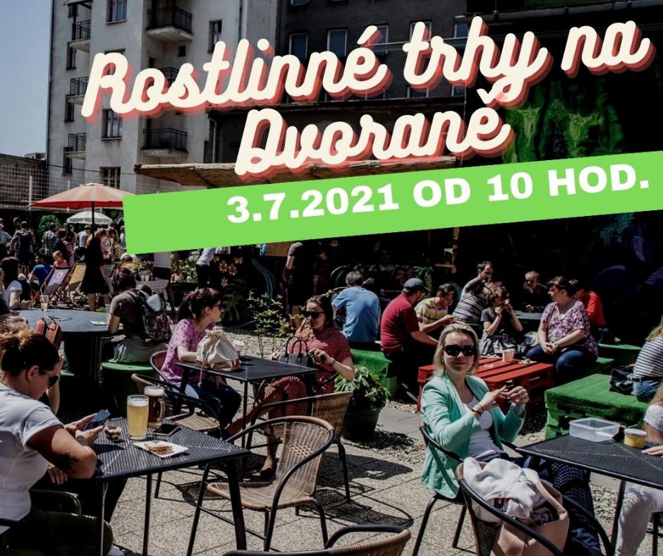 Rostlinné trhy poprvé v Ostravě 2021