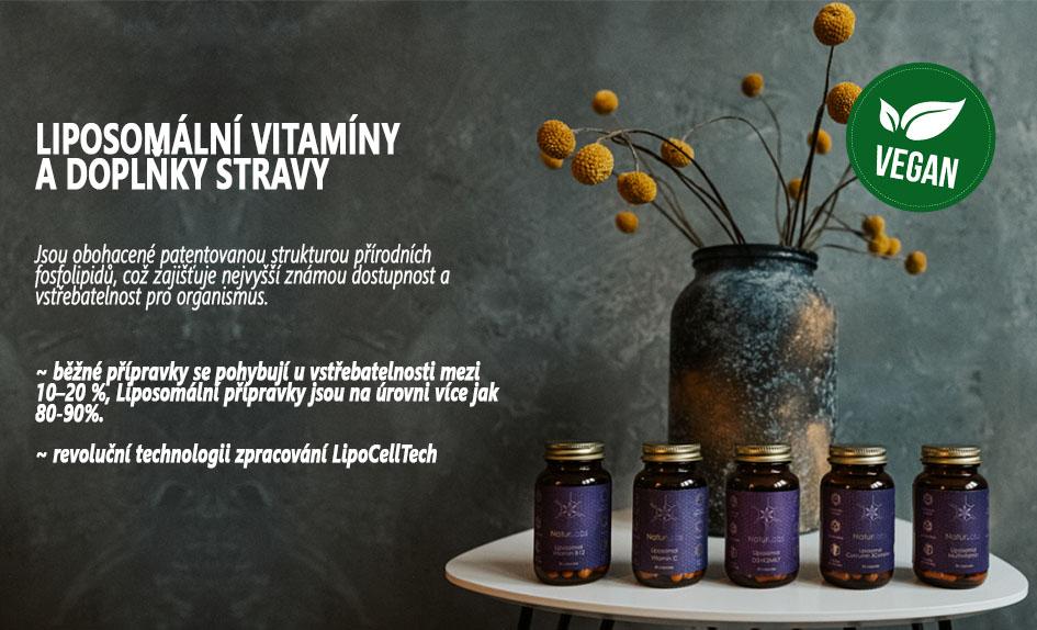 Liposomální vitamny