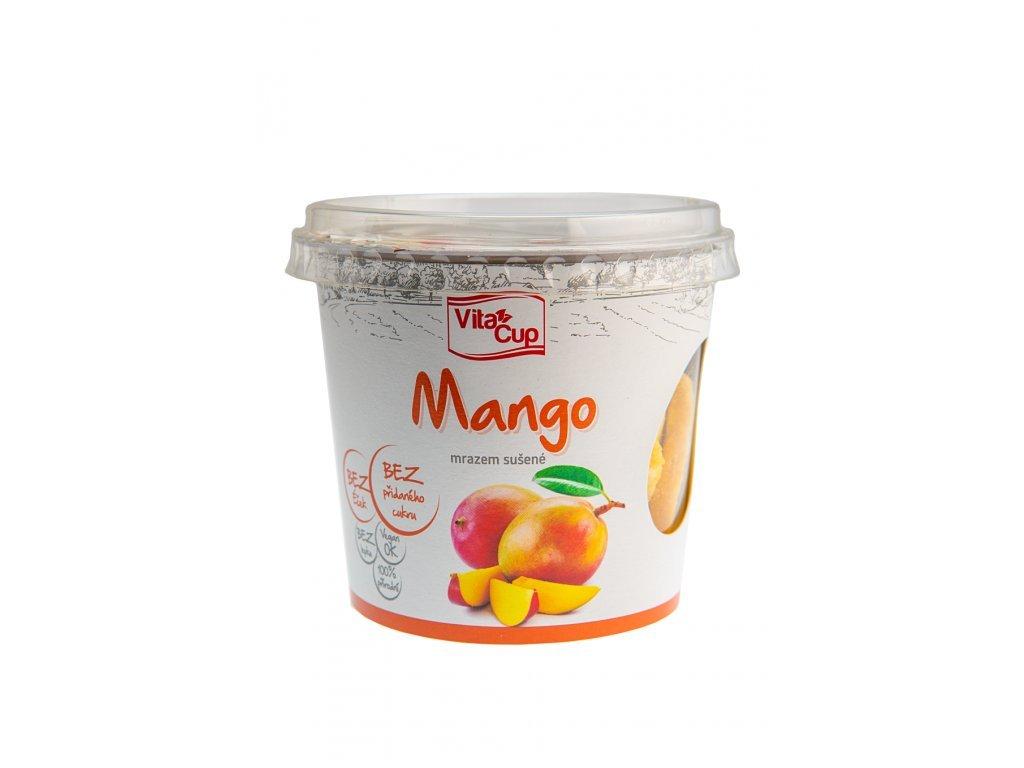 9681 vita cup mango platky lyofilizovane 30g