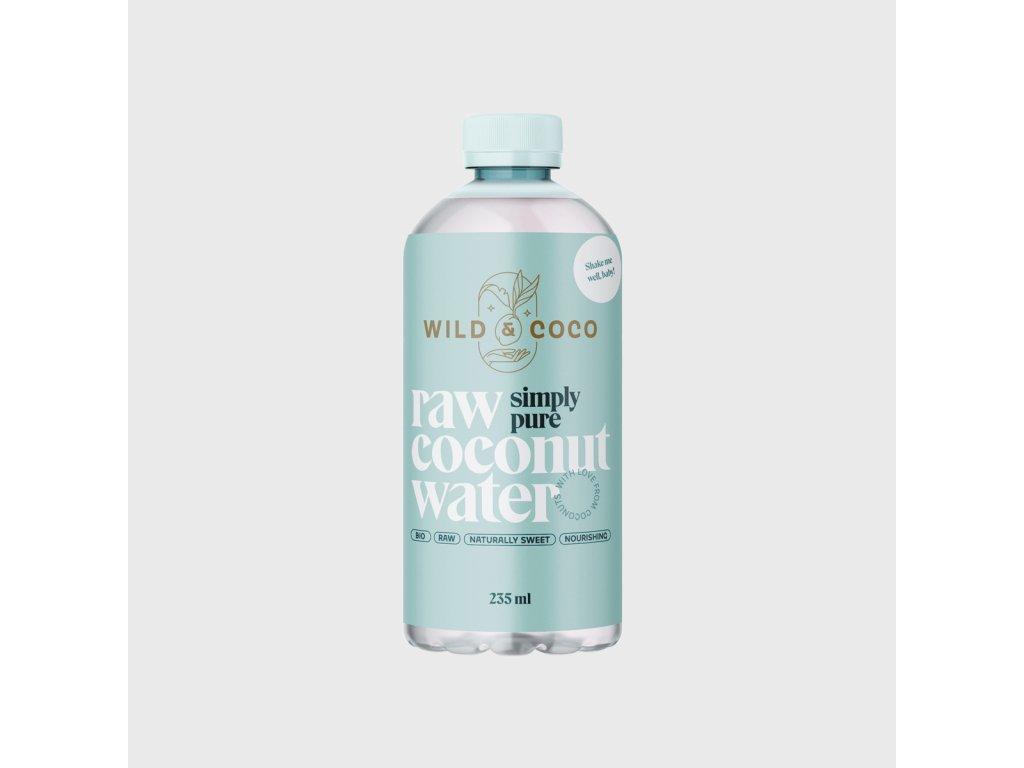 Raw kokosová voda SIMPLY PURE