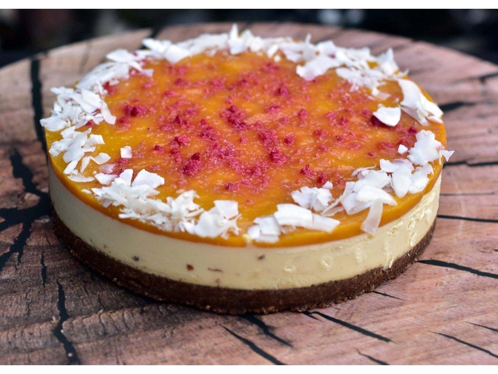 Mango Lassi CheeseCake raw dort (12)