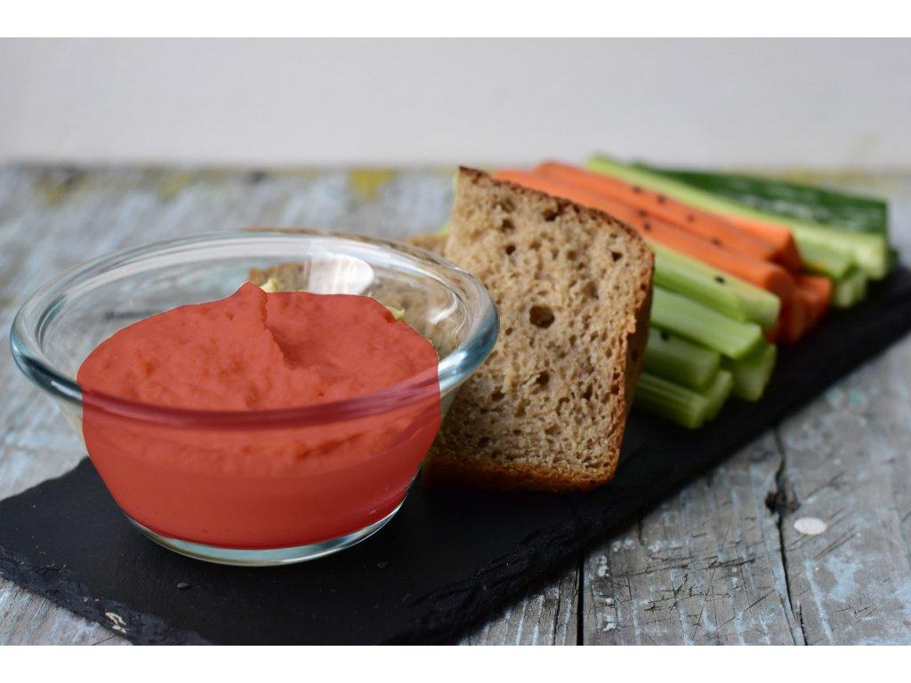 řepový Hummus bowl se zeleninovými špalíčky (6)