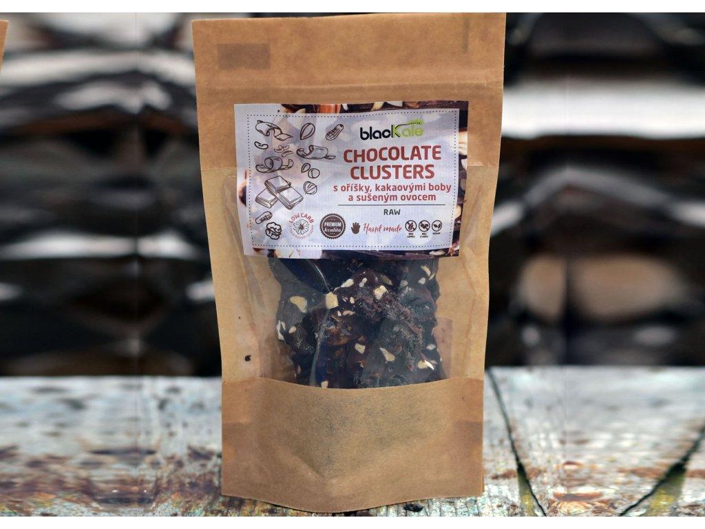 Raw chocolate clusters lámanka produktová