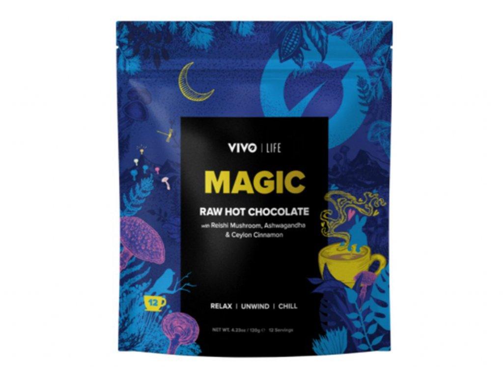 magic raw hot chocolate latté produkt