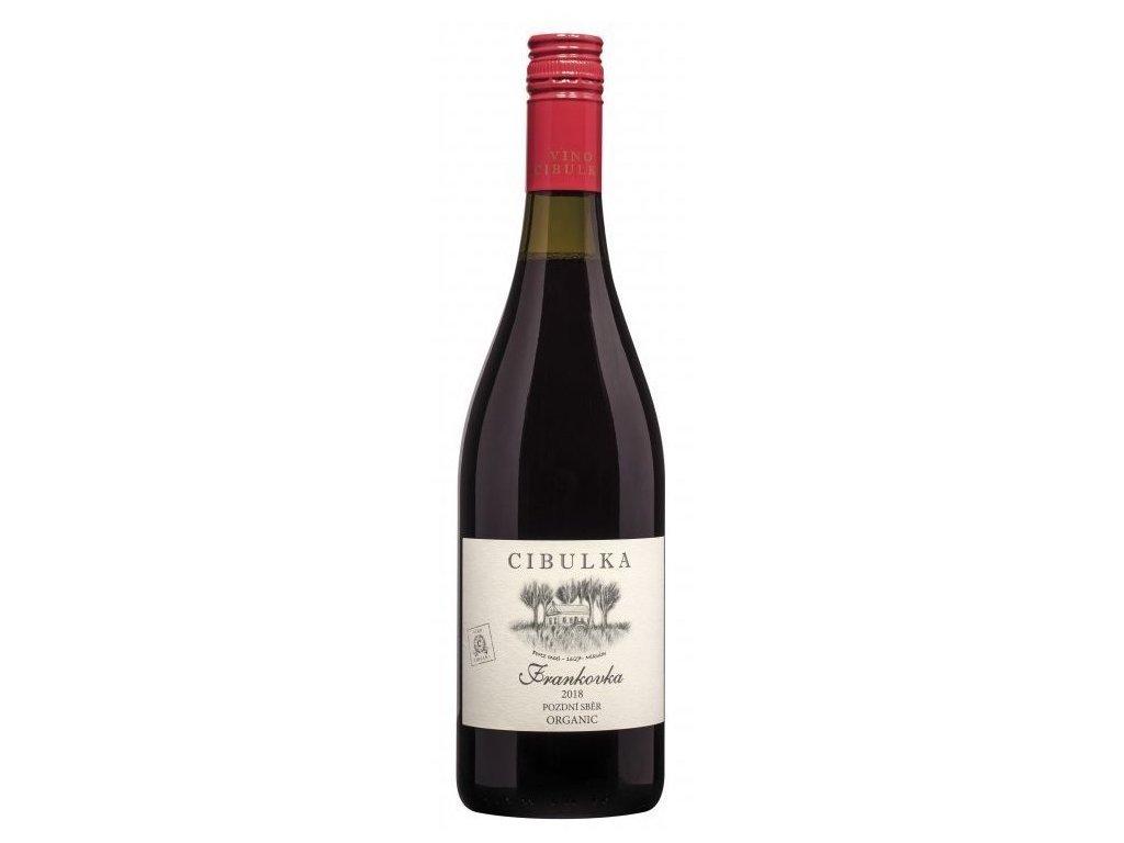 bio víno franktovka cibulka