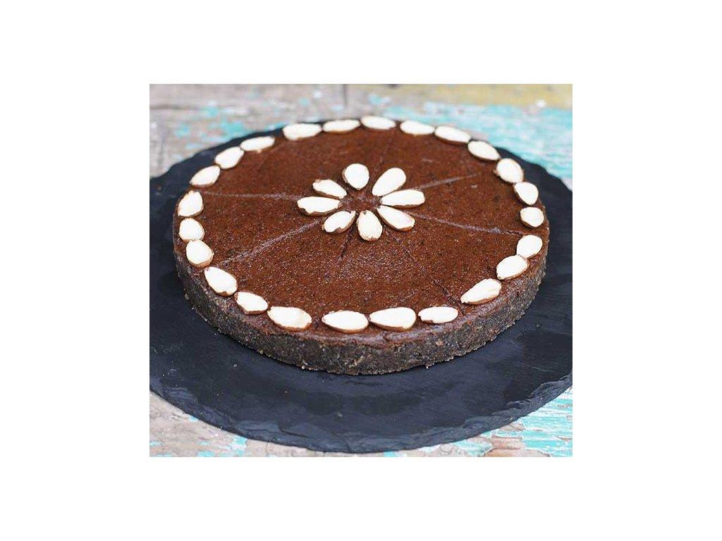 makovo svestkovy paj raw dort