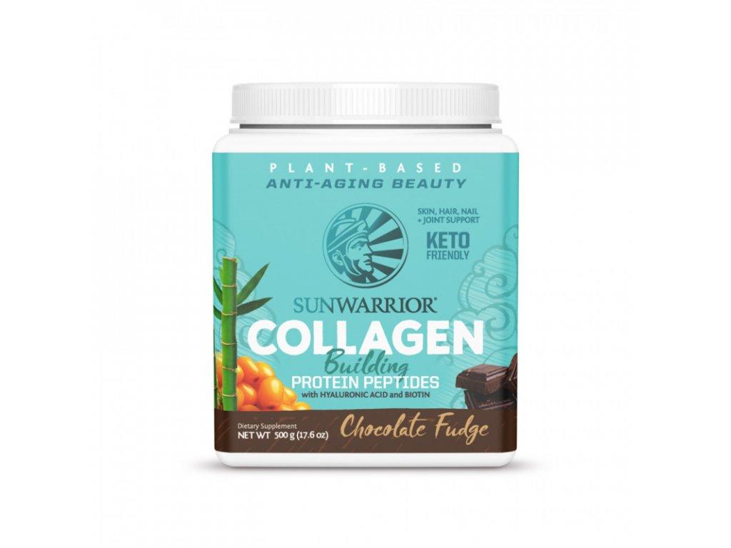 collagen sunwarrior čokoládový produkt