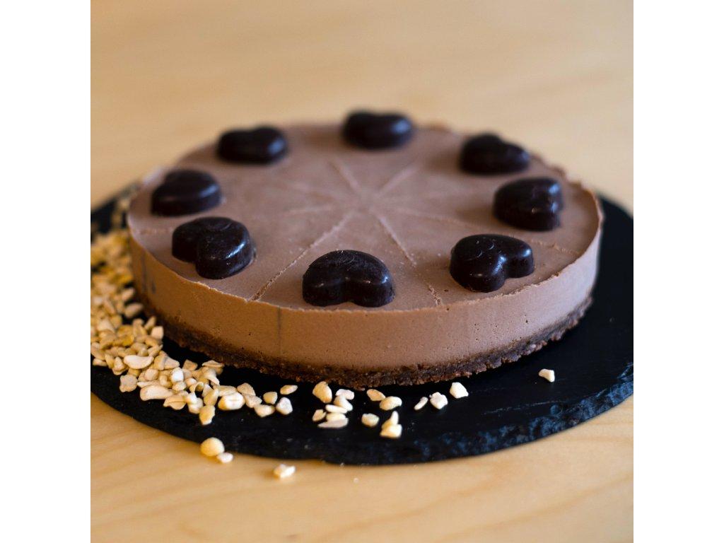 cokoladova love story - raw dort