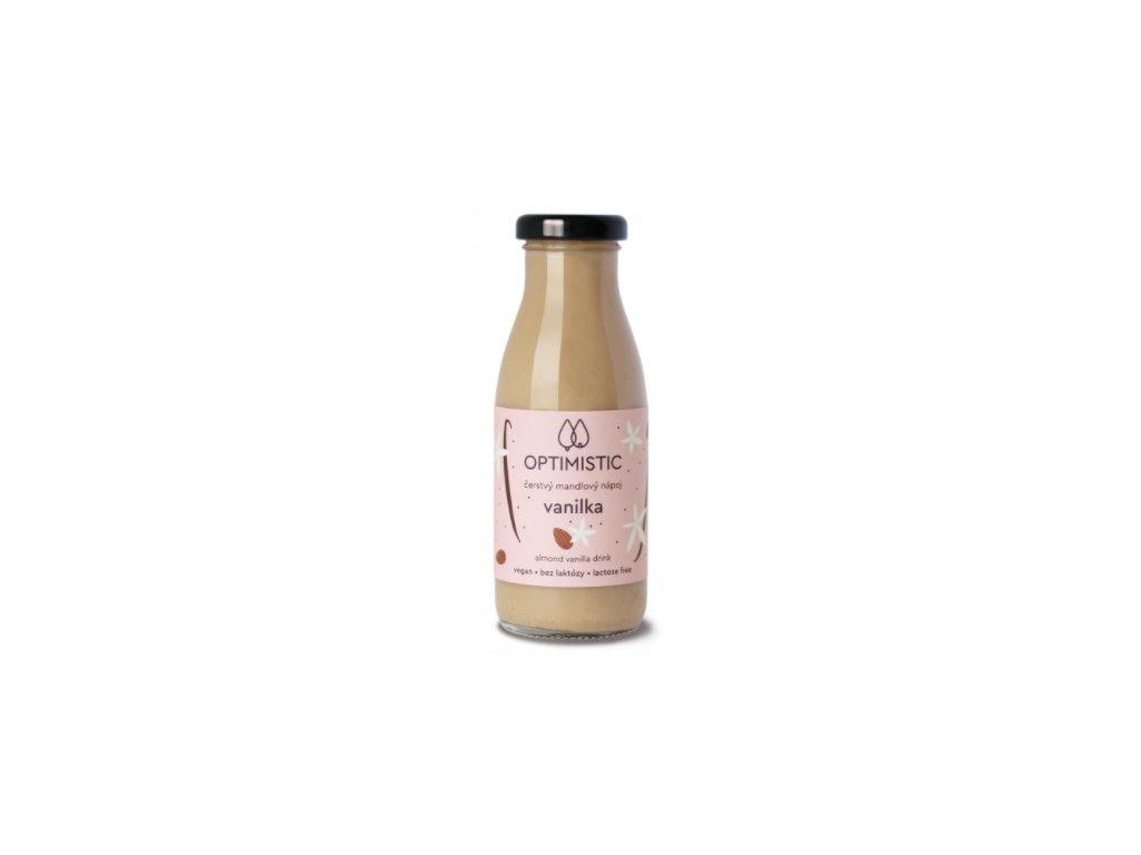 Optimistic mandlový nápoj Vanilka