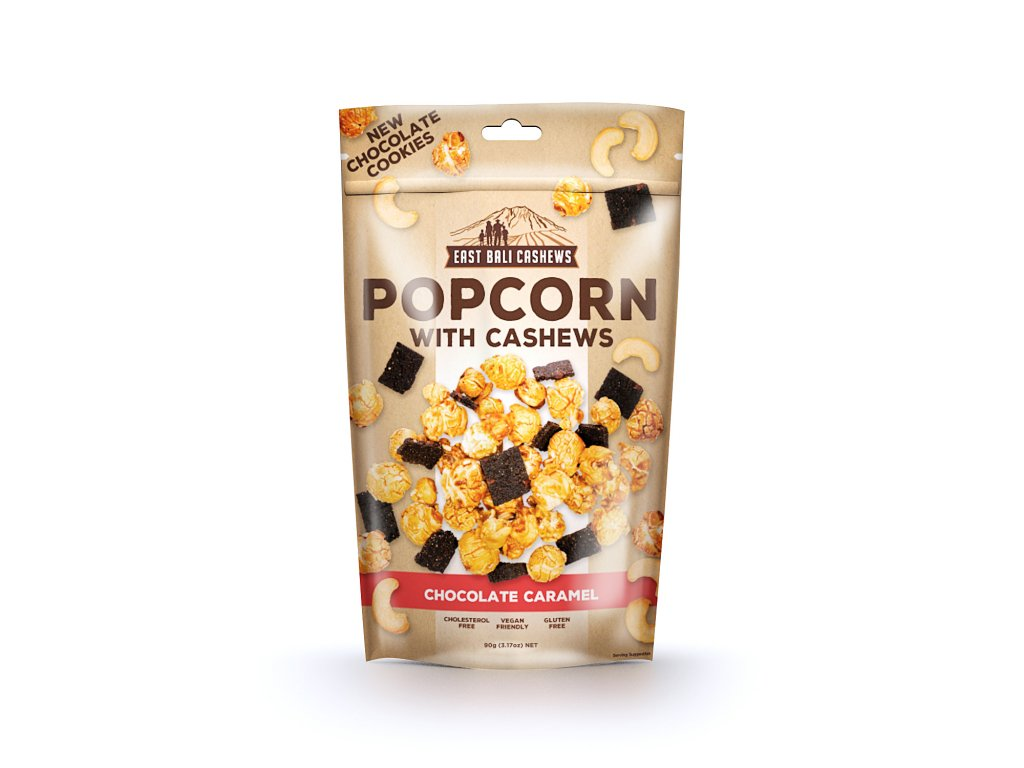 popcorn chocolate caramel