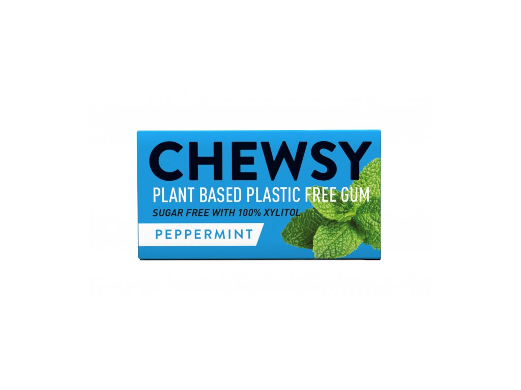 Veganské žvýkačky Chewsy - Peppermint