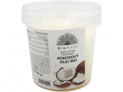 bio raw extra panenský kokosový olej