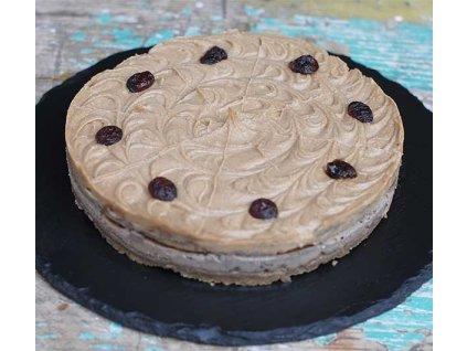 raw dort karamelovy mesquite