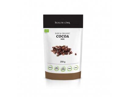 bio raw kakaové boby